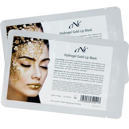 CNC Cosmetic Hydrogel Gold Lip Mask 2 Stück